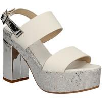 Schuhe Damen Sandalen / Sandaletten Grace Shoes OTRANTO 91 F9 Weiß