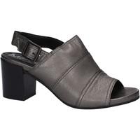 Schuhe Damen Sandalen / Sandaletten Marco Ferretti 660186 Grau