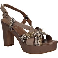 Schuhe Damen Sandalen / Sandaletten Mally 5832 Braun