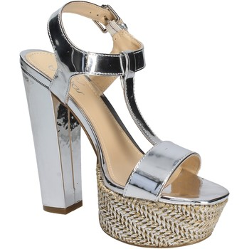 Schuhe Damen Sandalen / Sandaletten Byblos Blu 672135 Silber