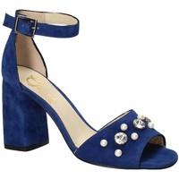 Schuhe Damen Sandalen / Sandaletten Grace Shoes 536 Blau
