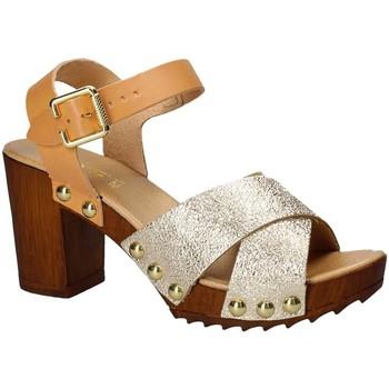 Schuhe Damen Sandalen / Sandaletten Keys 5864 Gelb