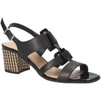Schuhe Damen Sandalen / Sandaletten Keys 5711 Schwarz