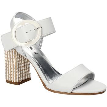 Schuhe Damen Sandalen / Sandaletten Keys 5726 Weiß