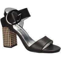 Schuhe Damen Sandalen / Sandaletten Keys 5726 Schwarz