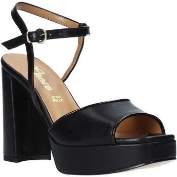 Schuhe Damen Sandalen / Sandaletten Grace Shoes 174002 Schwarz