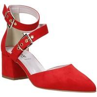 Schuhe Damen Pumps Grace Shoes 774004 Rot