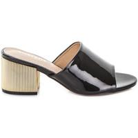 Schuhe Damen Pantoffel Gold&gold A19 GJ113 Schwarz