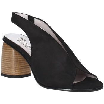 Schuhe Damen Sandalen / Sandaletten Grace Shoes 492S001 Schwarz