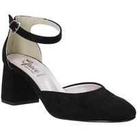 Schuhe Damen Pumps Grace Shoes 056016 Schwarz