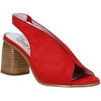 Schuhe Damen Sandalen / Sandaletten Grace Shoes 492S001 Rot