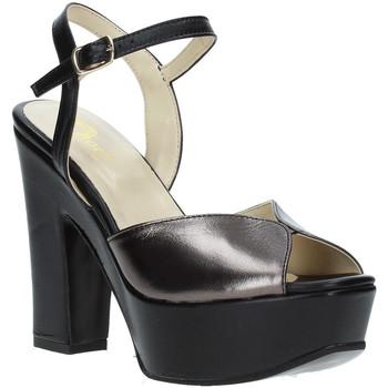 Schuhe Damen Sandalen / Sandaletten Grace Shoes TQ 074 Schwarz