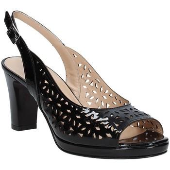 Schuhe Damen Sandalen / Sandaletten Soffice Sogno E9390 Schwarz