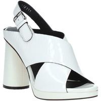 Schuhe Damen Sandalen / Sandaletten Elvio Zanon EJ4408N.C Weiß