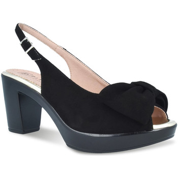Schuhe Damen Sandalen / Sandaletten Pitillos 2901 Schwarz