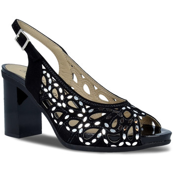 Schuhe Damen Sandalen / Sandaletten Pitillos 5581 Schwarz