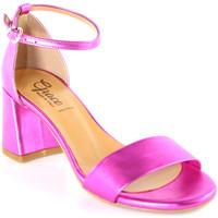 Schuhe Damen Sandalen / Sandaletten Grace Shoes 380008 Rosa