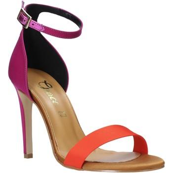 Schuhe Damen Sandalen / Sandaletten Grace Shoes 018Y037 Orange