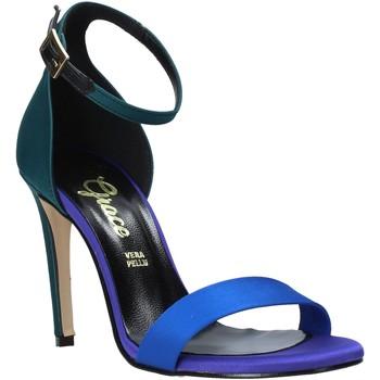 Schuhe Damen Sandalen / Sandaletten Grace Shoes 018Y037 Grün