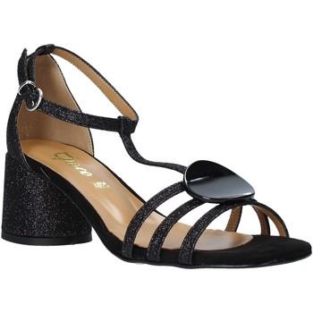Schuhe Damen Sandalen / Sandaletten Grace Shoes 123011 Schwarz