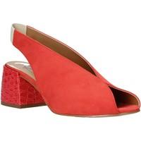Schuhe Damen Sandalen / Sandaletten Grace Shoes 1576002 Orange