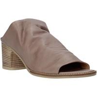 Schuhe Damen Pantoffel Bueno Shoes N6103 Grau