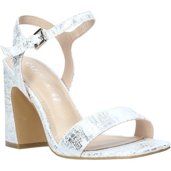 Schuhe Damen Sandalen / Sandaletten Café Noir LA926 Silber