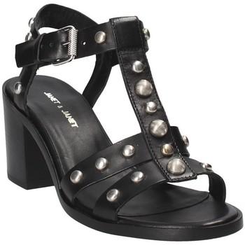 Schuhe Damen Sandalen / Sandaletten Janet&Janet 41409 Schwarz