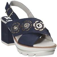 Schuhe Damen Sandalen / Sandaletten CallagHan 22600 Blau