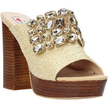 Schuhe Damen Pantoffel Love To Love ELI4177 Braun
