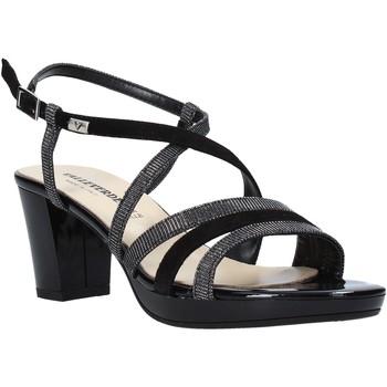 Schuhe Damen Sandalen / Sandaletten Valleverde 38535 Schwarz