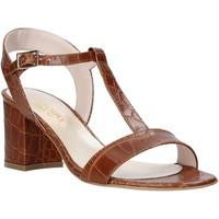 Schuhe Damen Sandalen / Sandaletten Casanova LING Braun