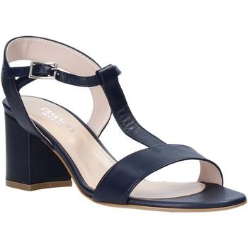 Schuhe Damen Sandalen / Sandaletten Casanova LING Blau