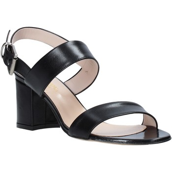 Schuhe Damen Sandalen / Sandaletten Casanova LIVIA Schwarz