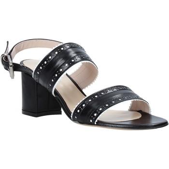 Schuhe Damen Sandalen / Sandaletten Casanova LJIAJIC Schwarz