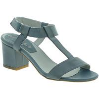 Schuhe Damen Sandalen / Sandaletten Mally 3895 Blau