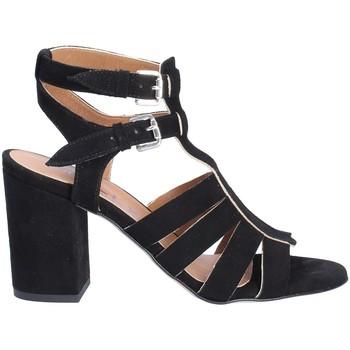 Schuhe Damen Sandalen / Sandaletten Mally 6272 Schwarz