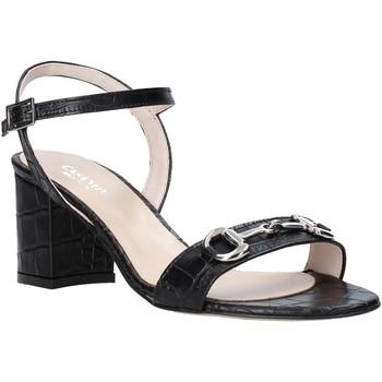 Schuhe Damen Sandalen / Sandaletten Casanova LUNT Schwarz