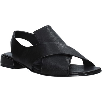 Schuhe Damen Sandalen / Sandaletten Mally 5763R Schwarz