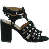 Schuhe Damen Pumps Mally 6123 Schwarz