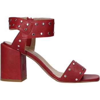 Schuhe Damen Pumps Mally 6278B Rot