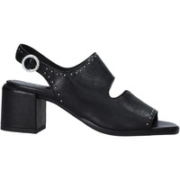 Schuhe Damen Pumps Mally 6868 Schwarz