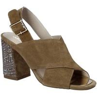 Schuhe Damen Sandalen / Sandaletten Alma En Pena V18277 Braun
