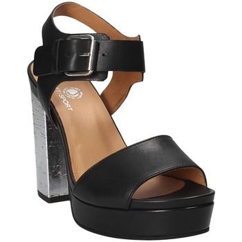 Schuhe Damen Sandalen / Sandaletten Janet Sport 41907 Schwarz