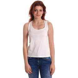 Kleidung Damen Tops Fornarina BE175L04JG0709 Weiß