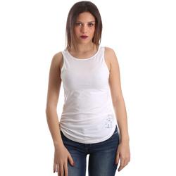 Kleidung Damen Tops Ea7 Emporio Armani 3GTH54 TJ28Z Weiß