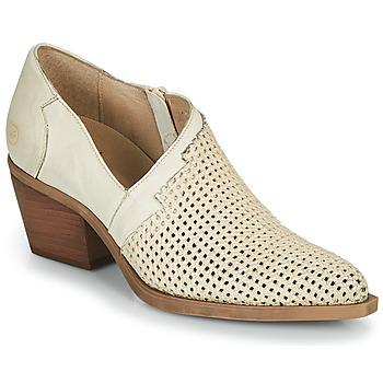 Schuhe Damen Boots Casta DELIRA Beige