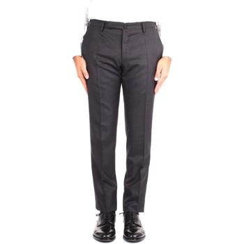 Kleidung Herren Anzughosen Incotex 1T0030 1394T 931 Grau