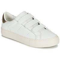 Schuhe Damen Sneaker Low No Name ARCADE STRAPS Weiss / Beige