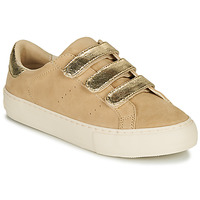 Schuhe Damen Sneaker Low No Name ARCADE STRAPS Beige / Gold